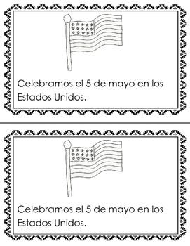 Cinco de Mayo Easy Reader and Coloring Activity
