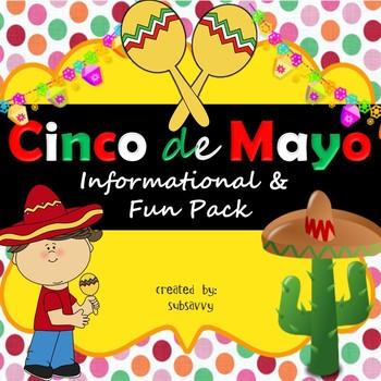 Cinco de Mayo - Educational & Fun Pack!