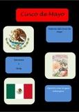 Cinco de Mayo Ejercicios/ Quiz/ Spanish class/ Lesson Materials/Reading
