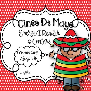 Cinco de Mayo Emergent Reader & Centers