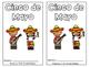 Cinco de Mayo Emergent Reader Read and Color