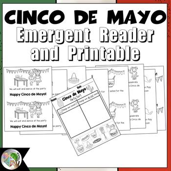 Cinco de Mayo Emergent Reader and Sorting Printable