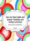 Cinco de Mayo English to Spanish Vocabulary and Writing Activities!