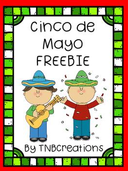 Cinco de Mayo FREE Word Search