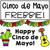 Cinco de Mayo FREEBIE