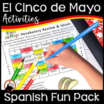Spanish Cinco de Mayo Fiesta Fun Pack