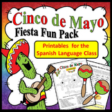 Spanish Cinco de Mayo Worksheets