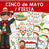 Cinco de Mayo Fiesta Themed Preschool Kindergarten Mini Unit