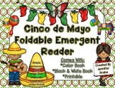 Cinco de Mayo Foldable Emergent Reader!  Color, Black & White and Printable!