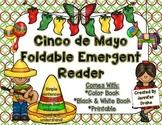 Cinco de Mayo Foldable Emergent Reader!  Color, Black & Wh