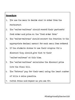 Cinco de Mayo Fractions to Decimals:  A Common Core Math Activity