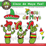 Cinco de Mayo Fun Clip Art Set 3