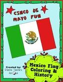 Cinco de Mayo Fun -  Mexican Flag & History - Special Education