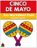 Cinco de Mayo Fun Worksheet Pack (K-2)