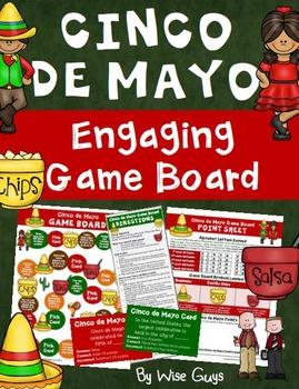 Cinco de Mayo Game Board Activities
