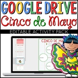 Cinco de Mayo Google Drive Digital Interactive Activity Pa