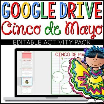 Cinco de Mayo Google Drive Digital Interactive Activity Pa