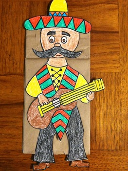 Cinco de Mayo Guitar Player
