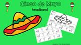 Cinco de Mayo Headband Activity Cut and Color