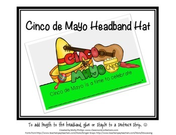 Cinco de Mayo Headband Hat