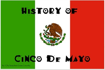 Cinco de Mayo History Powerpoint WITH Video Clip (Power Point)
