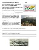 Cinco de Mayo History Webquest for MIddle School Battle of Puebla