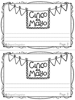 Cinco de Mayo Printables | 44 Pages for Differentiated Learning + Bonus Pages