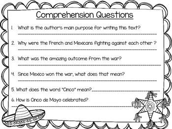 Cinco de Mayo Informational Text