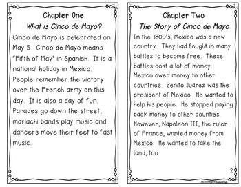 Cinco de Mayo Instant Reading Lesson