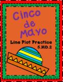 Cinco de Mayo LIne Plot Practice