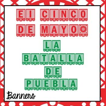 Cinco de Mayo - La Batalla de Puebla {Banners}