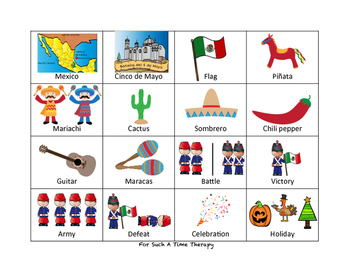 Cinco de Mayo Language Therapy Bundle