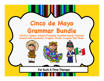 Cinco de Mayo Language Therapy: Grammar