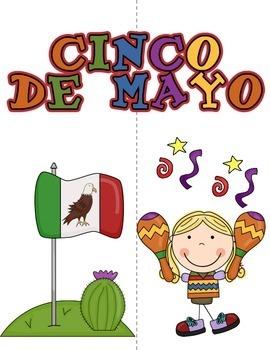 CINCO DE MAYO ACTIVITIES - Mexican Holiday Lapbook