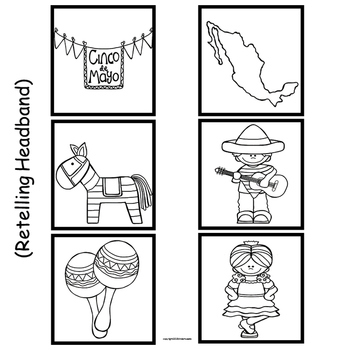 Cinco de Mayo  Literacy Center Activities for Emergent Readers