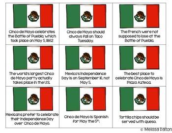 "Cinco de Mayo Literacy Centers for ""Big Kids"""