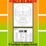 Cinco de Mayo - Lucha Libre - A Coordinate Graphing Activity