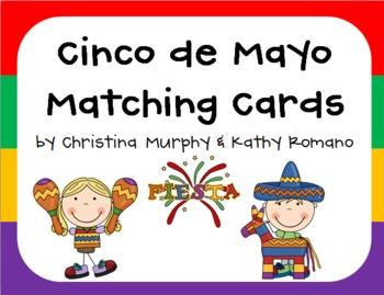 Cinco de Mayo Matching Cards