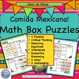 Puzzles, Critical Thinking, Logic Math Box Puzzles, Problem Solving