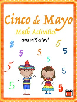 Cinco de Mayo Math Fun with Fives Upper Elementary