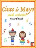 Cinco de Mayo Math Fun with Fives Upper Elementary
