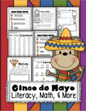 Cinco de Mayo Math & Literacy Fiesta Pack