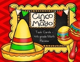 Cinco de Mayo Math Task Cards - 4th