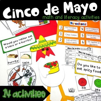 Cinco de Mayo Math and Literacy Fun