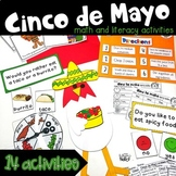 Cinco de Mayo Fiesta   Literacy and Math Activities  
