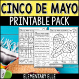 Cinco de Mayo Math and Literacy Printable Pack