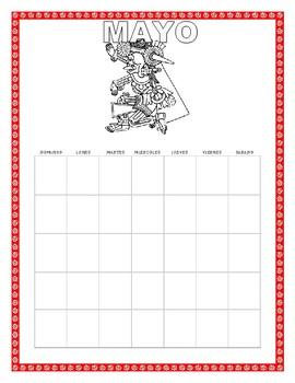 Mayo-No Prep Bundle- Interactive Notebook Pages-Cinco de Mayo/Mother's Day