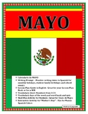 Mayo-No Prep Bundle- Interactive Notebook Pages-Cinco de Mayo/Mother's Day