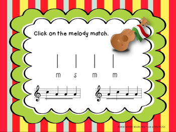 Cinco de Mayo--Melodic Notation Recognition Game {sol mi}