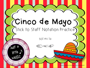 Cinco de Mayo--Melodic Notation Recognition Game {sol mi la}